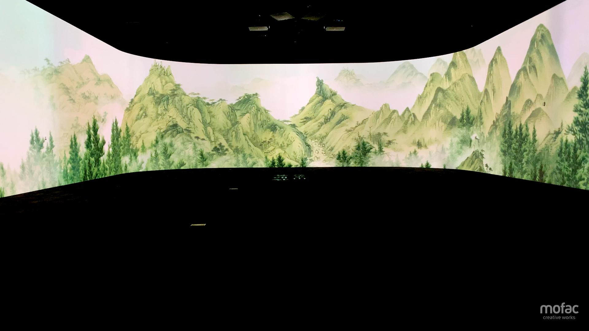 국립중앙박물관의 영화 같은 문화유산 실감콘텐츠 선보인 모팩